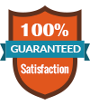 100 percentage satisfaction Guaranteed on Web Design & Development