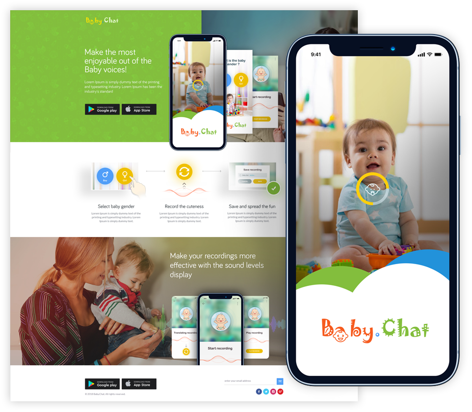 Baby Chat iphone & android app development